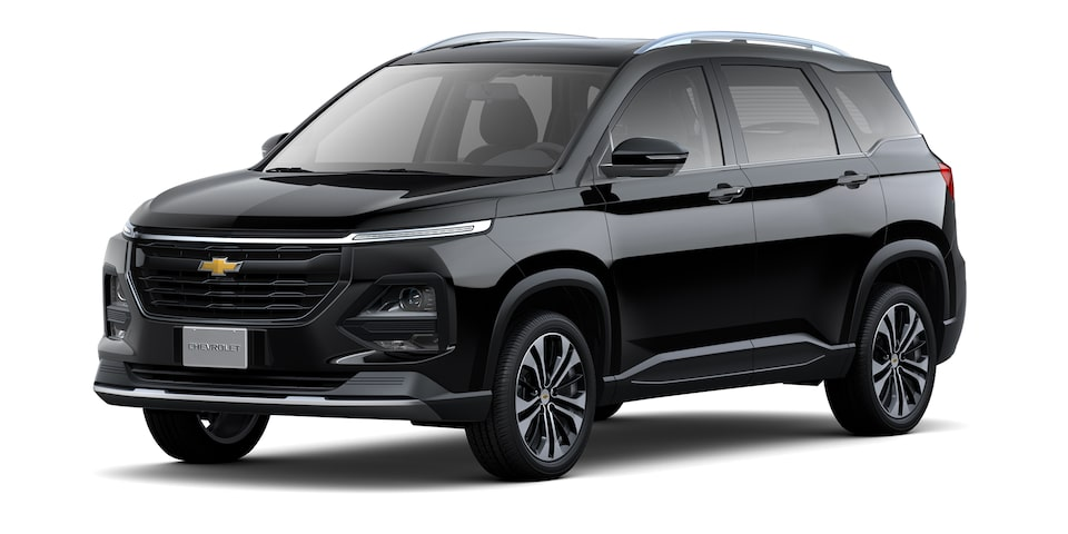 Exterior de Chevrolet Captiva 2022 en color negro